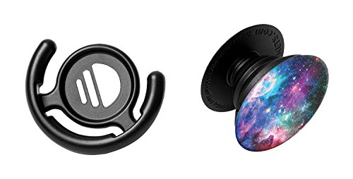 PopSockets: Collapsible Grip & Stand for Phones and Tablets - Blue Nebula & Mount