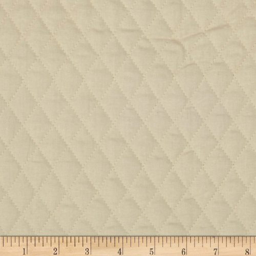 Double Sided Quilted Muslin Natural Fabric By The - Pre-quilted Fabric The Yard By