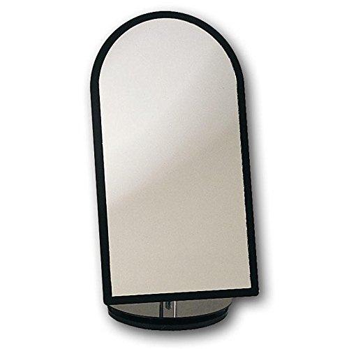 Swivel Black Frame Mirror 11.5