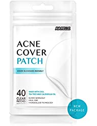 Avarelle Acne Cover Patch Hydrocolloid, Tea Tree, Calendula Oil, CICA (40 ROUND PATCHES)