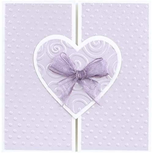 Precious Purple Heart Card - Fair Trade & Handmade Sales