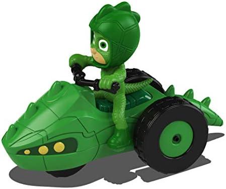 Dickie Toys 203141012 PJ Masks - Vehículo de Metal con Rueda Libre, 7 cm, a Partir de 3 años