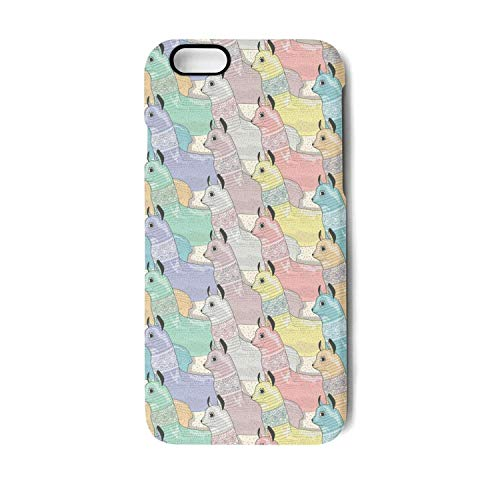 Pretty iPhone 7/8 Plus Mobile Phone case Mama Llamas Colorful iPhone 7 Plus Accessories Cool iPhone 8 Plus case