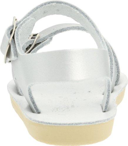 Little Silver Salt Women's Toddler Big Wees Sea Water Shoe Sandals Kid by Kid Sandal Hoy zO1wRrz6qx