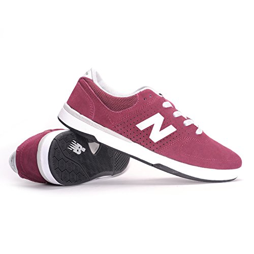 New Balance Numeric - Zapatillas de skateboarding para hombre Rojo burdeos Rojo - burdeos