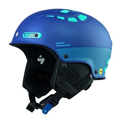 Sled Slalom (Sweet Protection Women's Igniter II MIPS Ski and Snowboard Helmet, Satin Midnight Blue Metallic, Small/Medium)