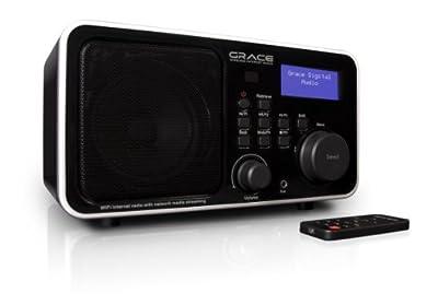 Grace Digital WiFi Internet Radio featuring Pandora and NPR from Grace Digital