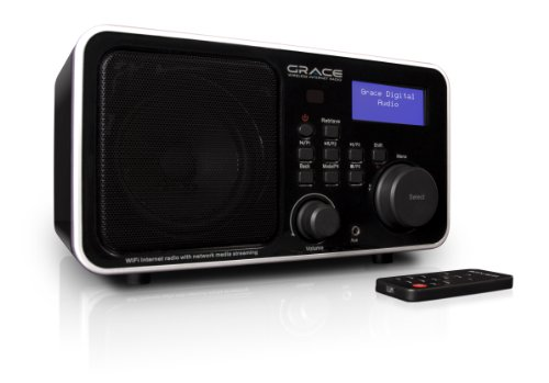 Grace Digital GDI-IR2000 WiFi Internet Radio featuring Pando