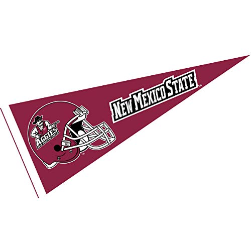 College Flags and Banners Co. New Mexico State Aggies Football Helmet Pennant