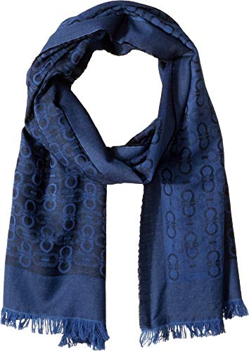 Salvatore Ferragamo Men's Essenza Scarf Night One Size
