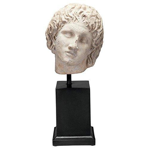 Design Toscano Alexander The Great Sculptural Bust on Museum -