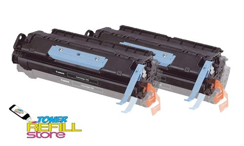 Toner Refill Store Compatible Toner Cartridge Replacement for Canon 106 (Black, 2-Pack)