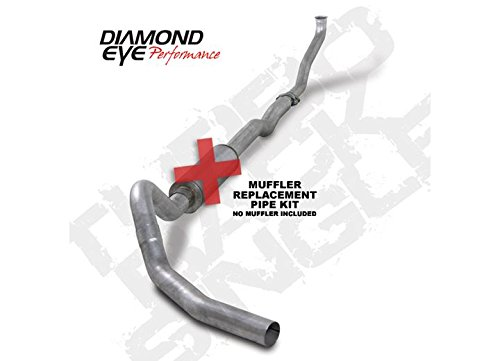 Diamond Eye K4102A-RP Turbo-Back Exhaust Kit
