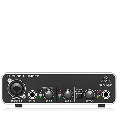 BEHRINGER audio interface UMC22
