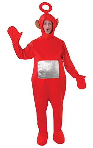 Teletubbies Red Po Adult Fancy Dress Stag Costume]()