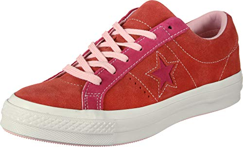 Lifestyle pink Converse Red Enfant Basses One Sneakers Ox 603 Mixte enamel Multicolore Star Pop dwRUwqTg