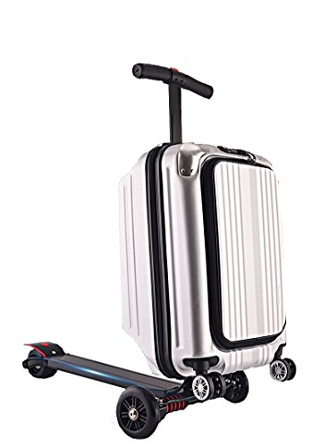 Sunshine baby The 21 inch USB charging port and the multi-purpose scooter suitcase travel bar (silver)
