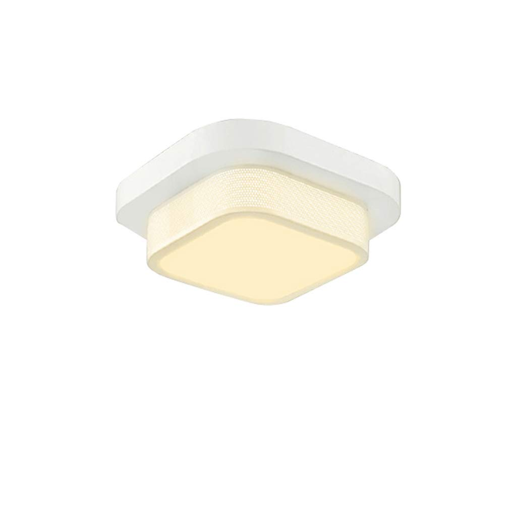 Lámpara Cuadrado De Plafón Techo Led Modern Bajo Vwant WE9IDH2