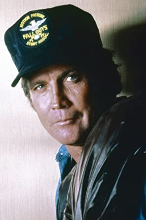 Lee Majors in The Fall Guy as Colt Seavers in Fall Guys baseball hat ... cb3e5e1eb82