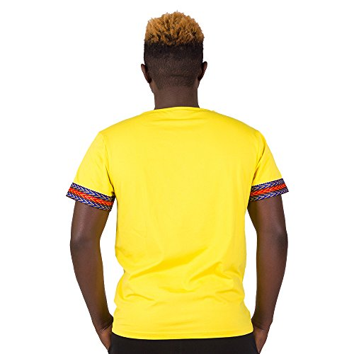 FANS FACE African Traditional Dashiki Men Fashion T-shirt Tops 2018 Nigeria Short Sleeve Plus Size by FANS FACE (Image #1)