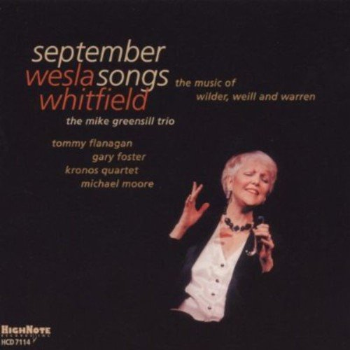 September Songs: Music Of Wilder, Weill And Warren by HighNote Records