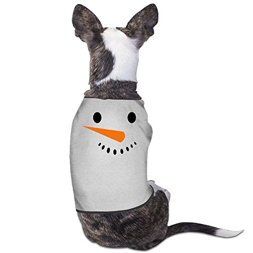 Theming Snowman Dog Vest (New Hampshire Halloween 2017)
