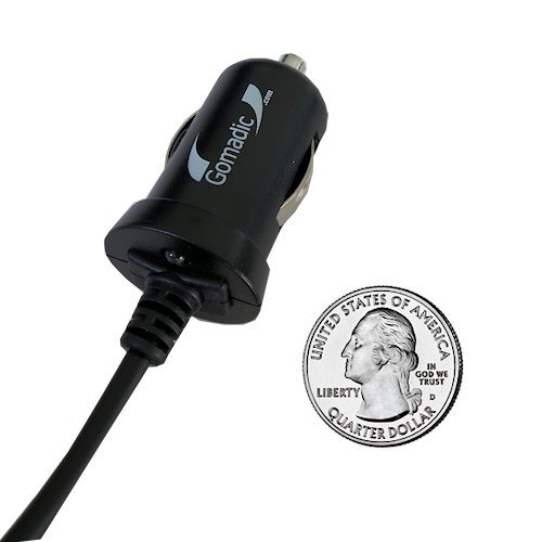 Rapid Car / Auto Travel Charger w/ Tip Exchange for the Creative MuVo Slim - Gomadic Brand by Gomadic (Image #2)