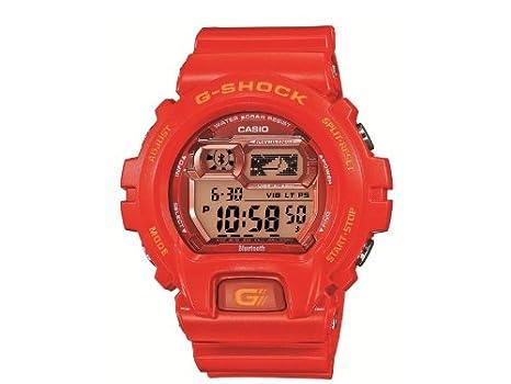 Casio G-Shock Naranja, Rojo reloj inteligente - Relojes inteligentes (65 g,