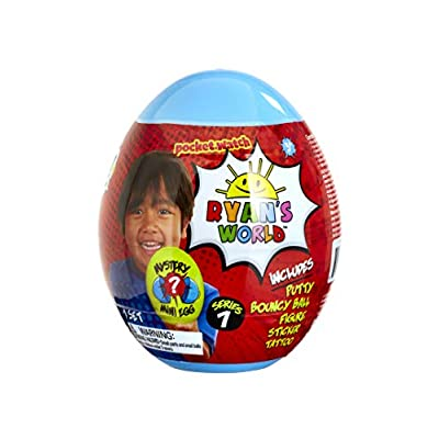 RYAN'S WORLD BK00724 Mystery Mini Egg, Multi: Toys & Games