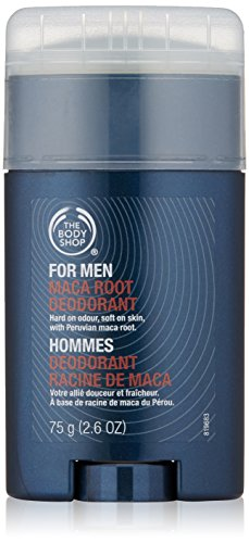 The Body Shop For Men Maca Root Deodorant Stick, 2.6 Ounce - Natural Body Deodorant