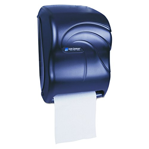 San Jamar T1390TBK Electronic Touchless Roll Towel Dispenser, 11 3/4 x 9 x 15 1/2, Black by San Jamar