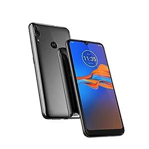 Motorola Moto E6 Plus (32GB, 2GB RAM) 6.1″ Max Vision Screen, 3000mAh Removable Battery, Hotspot, FM Radio, US + Global 4G LTE Dual SIM GSM Factory Unlocked XT2025-1 – International Model (Graphite)