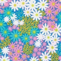 """Fabric Palette Pre-cuts 18""""x21"""" Cotton 1/4yd-punch Of Paisley 5 6Pk"""