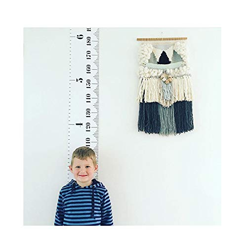 Kimanli Baby Height Growth Chart Hanging Ruler Children Room Decoration Painting Height Rod Wall Hanging