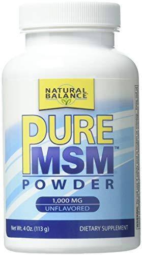Natural Balance Puremsm Fine Powder 1000 Mg Supplements, 4 Ounce