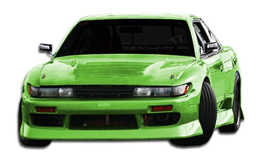 (Duraflex Replacement for 1989-1994 Nissan 240SX S13 Silvia S13 Conversion B-Sport Kit - 4 Piece )