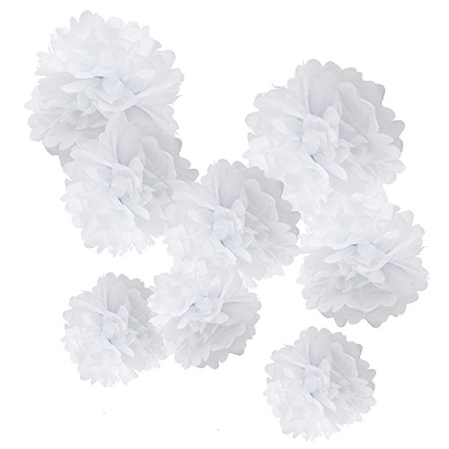 WYZworks Set of 8 (Assorted White Color Pack) 8
