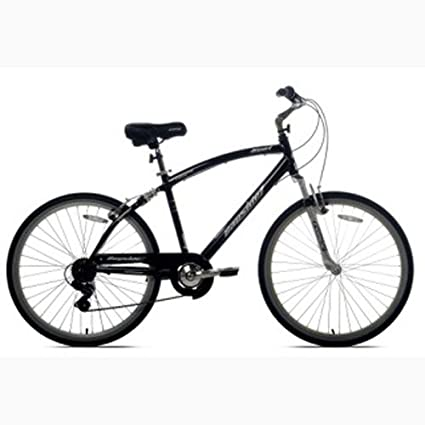 Men Bike 26/'/' SHIMANO 7 Speed Avalon Mens Comfort City Bicycle Full Suspension