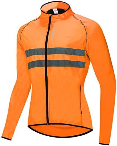 自転車ジャケット サイクリングジャージコート ライト 防水 反射ジャケット 全5サイズ