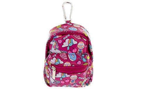 Claires Unicorn Fun Fair Mini Backpack Keyring Coin Purse