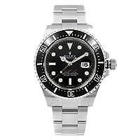 Men's Rolex Sea-Dweller Black Dial Men's Watch (Ref. 126600)