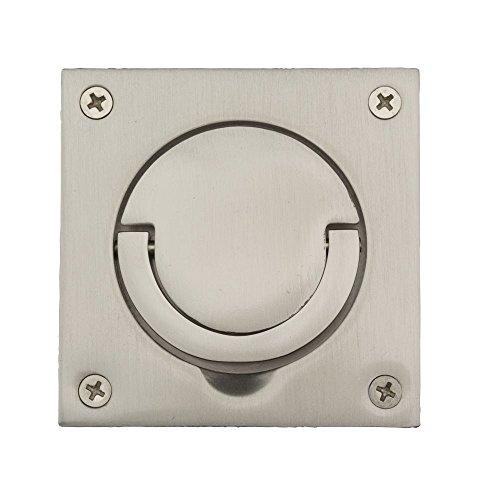 Baldwin Flush Ring Pull - Baldwin 0397150 Flush Ring Pull, Satin Nickel