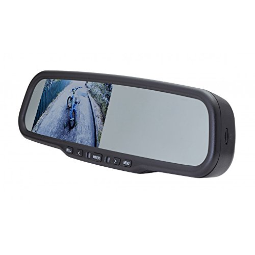 EchoMaster Universal Rearview Mirror Replacement with 4.3