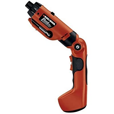 BLACK+DECKER PD600 Pivot Plus 6-Volt Nicad Cordless Screwdriver with Arti from Black & Decker