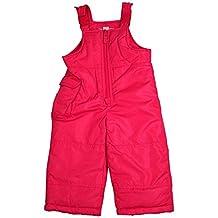 London Fog - Baby Girls Bib Snowpant, Pink 34082-24Months