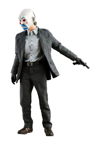 Batman: The Dark Knight - 1/6 Scale Movie Masterpiece Bank Robbery Joker by Hot Toys
