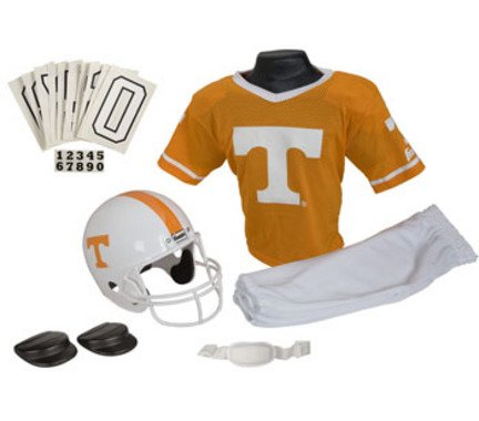 [Franklin Sports NCAA Tennessee Volunteers Deluxe Youth Team Uniform Set, Medium] (26 Halloween Costumes For Toddlers)