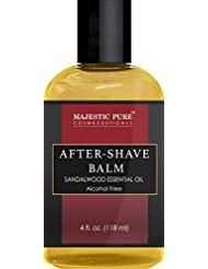 After Shave Balm for Men with Sandalwood Essential Oil...