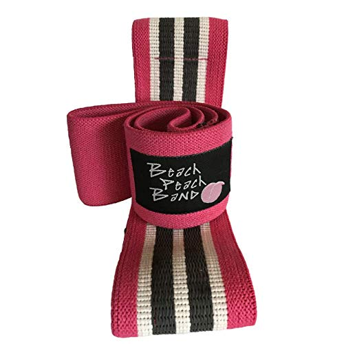 Beach Peach Program Resistance Bands for Legs and Butt, Arms & Core - Non-Slip, Toning, Weight Loss, Muscle Gain, Pregnancy-, Glute Instruction Guide, Online Training, Online Community