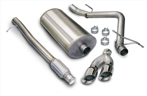 CORSA 14925 Sport Single Side Exit Cat-Back Exhaust System with Twin 4
